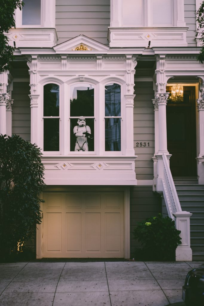 Storm Troopers Guard your Airbnb like we guard your Airbnb