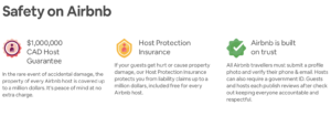 Airbnb Trust and Safety Insurance - Heart Homes Vacation Rentals Vancouver and Whistler