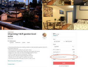 Airbnb Management Vancouver and Whistler - Taxes
